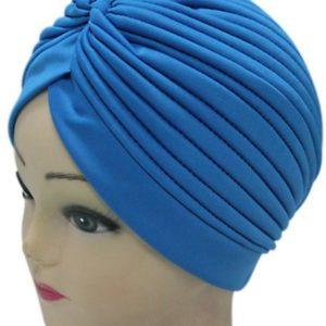 Turban cap Sky blauw