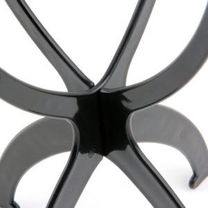 Pruiken staander (zwart)