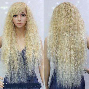 PRUIK Blond lang krullend (666-03)