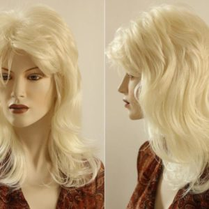 PRUIK Blond golvend (PL-635-38)