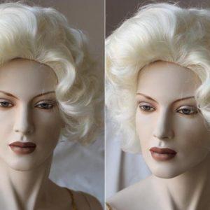 Show & Toneel Burlesque pruik, kort blond (PK-316-01)