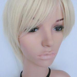 Pruik Kort Blond, trendy, (PK-S100)
