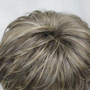 PRUIK Bruin mixed donker blond klissen (E-VEGA-8TT124)