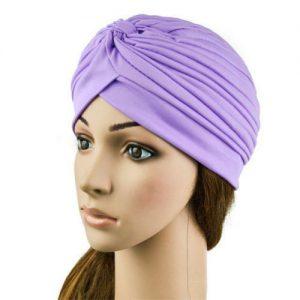Turban Cap hoofddoek Purper