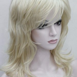 PL-E3009A-613 Blond half lange pruik