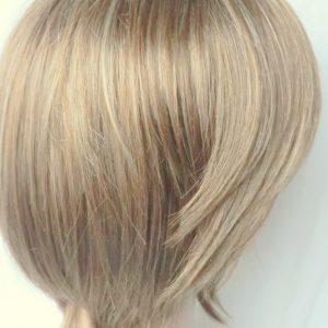 PRUIK Kort, Mixed kleur donker blond, (pm-399-06)