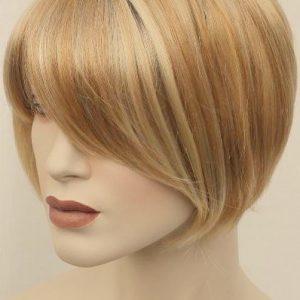 PRUIK kort blond/licht rood getint>>SOLDEN<< 29 eur! (PK-277-07)