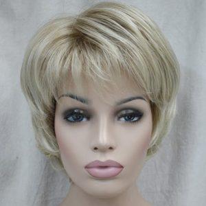 PRUIK Kort Donker blond naturel
