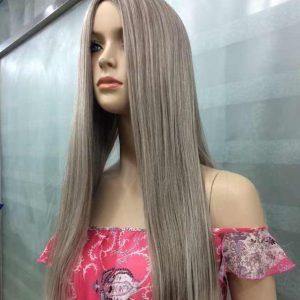 Pruik As grijs blond mix special (RG9703-48T)