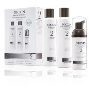 Nioxin 2, behandeling voor afnemende haar dichtheid (voor fijn naturel haar)