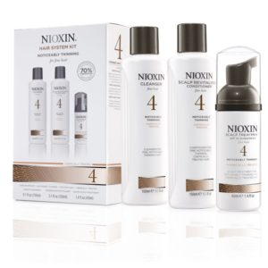 Nioxin 4, behandeling voor afnemende haar dichtheid – (voor fijn chemisch behandeld haar)