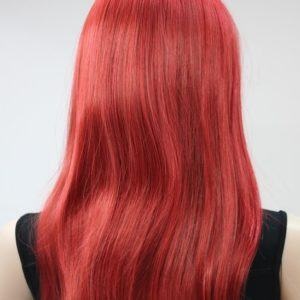 Pruik Lang Speciaal Rood – red  (L-fanlan-137)