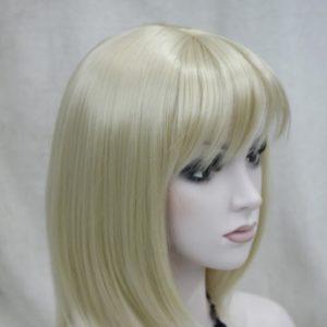 Pruik Blond stijl half lang (L345-613)