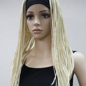 PRUIK RASTA HAAR vlechten blond (PL-13338-613)