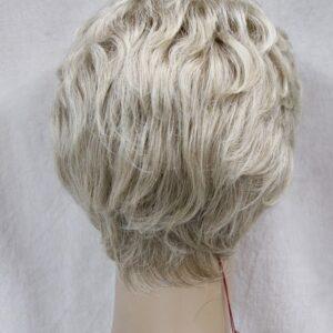 Pruik Kort, licht krullend, normaal blond (L3041-15BT613)