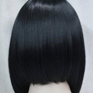Pruik, Half lang, stijl BOB, zwart. (E-9606-1)