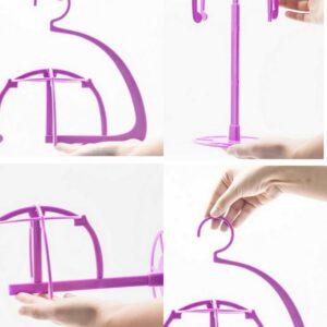 Handige pruiken hanger/staander, multi functioneel